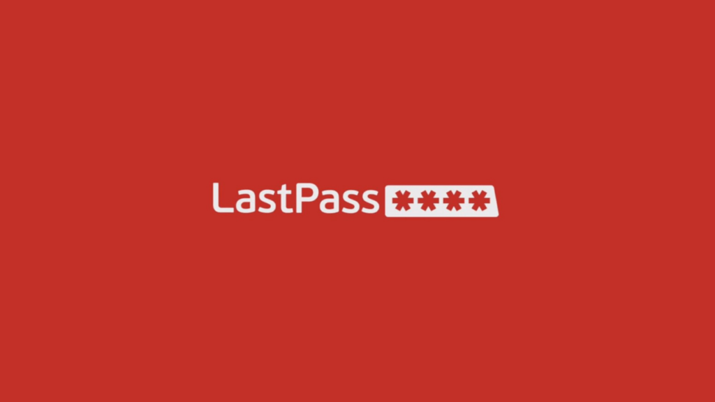 Lastpass manager Android application