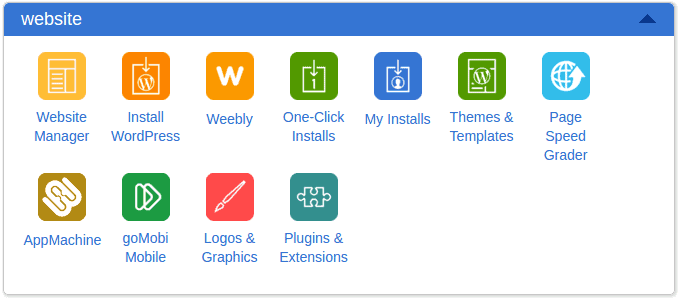 Bluehost one click installations