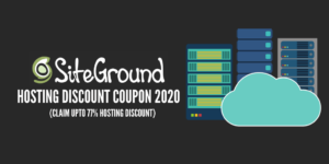 SiteGround Coupon 2020