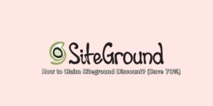 Claim SiteGround Discount