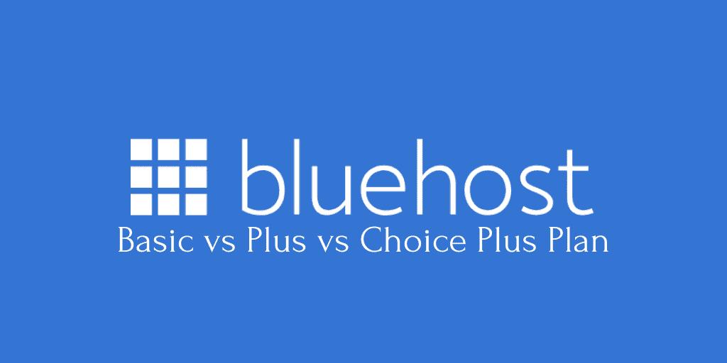 Best Bluehost plan 2020