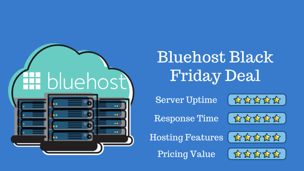 Bluehost Black Friday Cyber Monday Discount 2020
