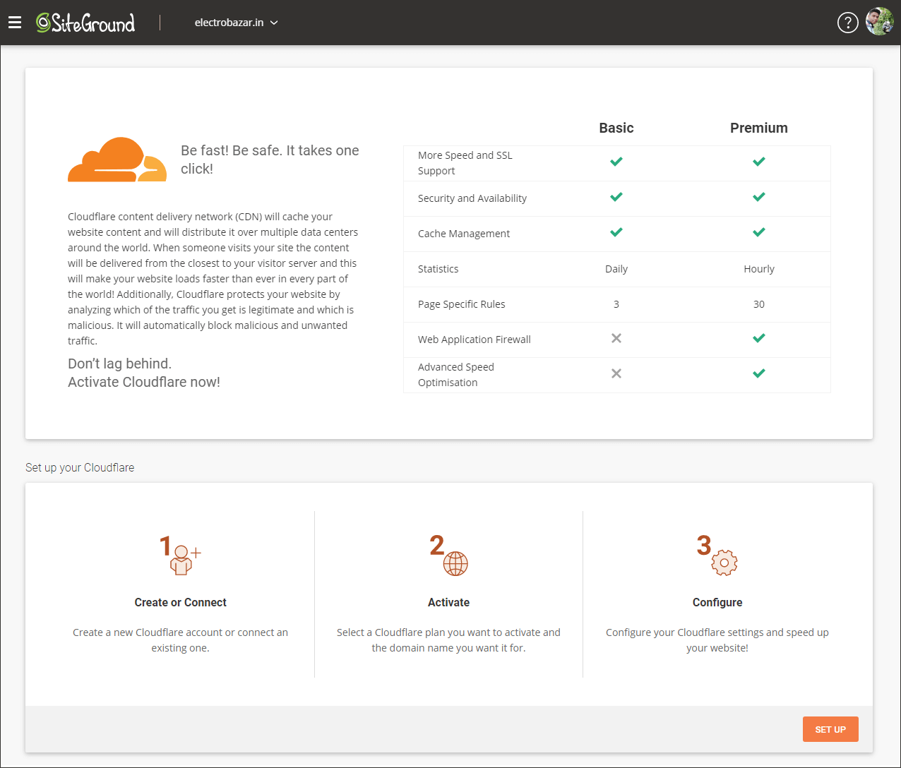 SiteGround CloudFlare CDN