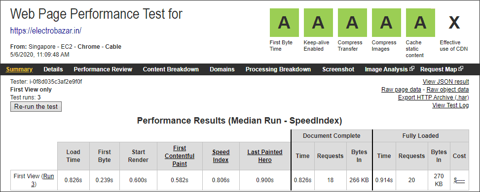 SiteGround website speed