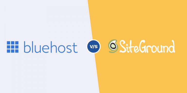 Bluehost vs SiteGround