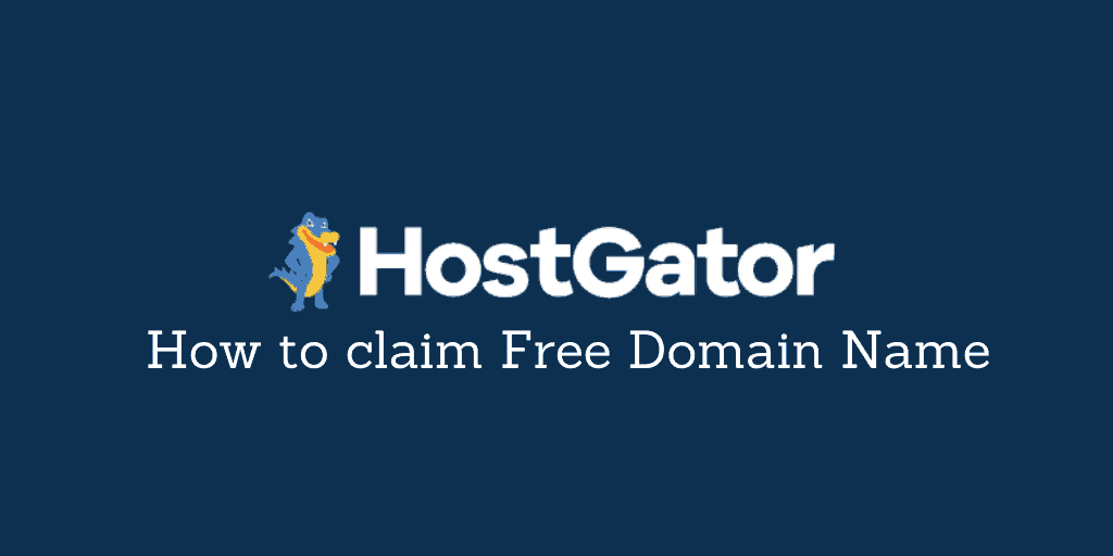 HostGator Free Domain Name