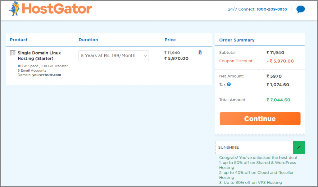 HostGator Coupon code 2020