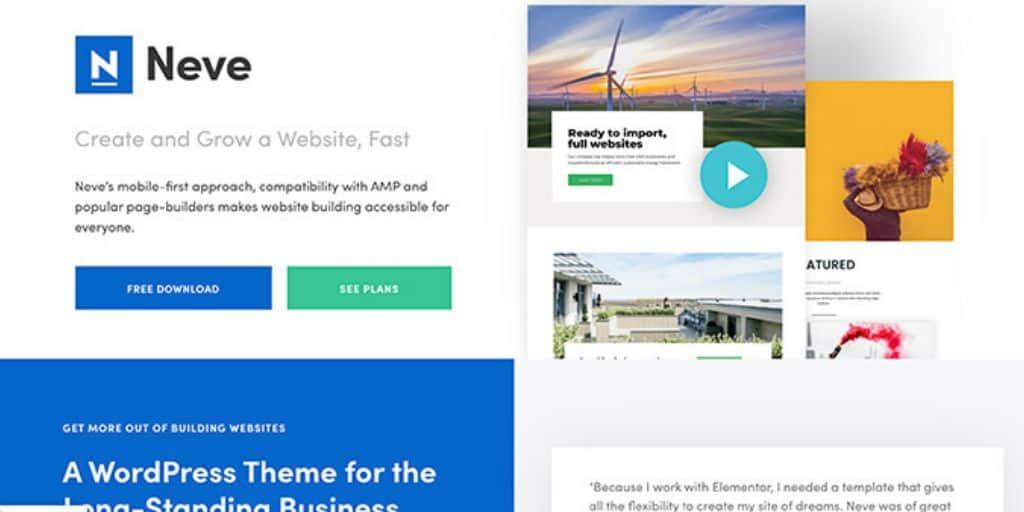 Neve WordPress theme Black Friday deal