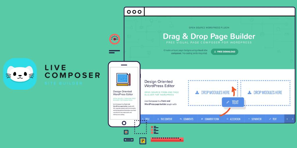 Live Composer Site Page Builder