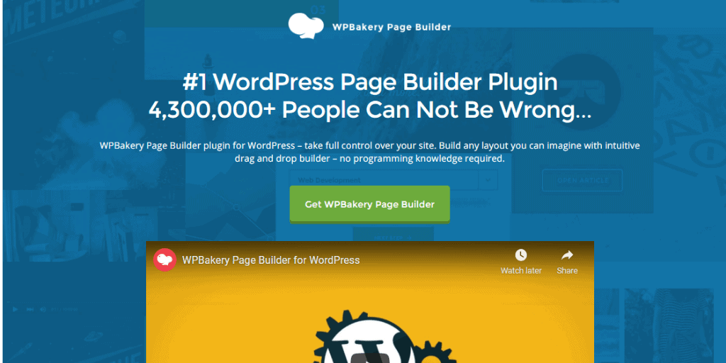 WPBakery WordPress Page Builder