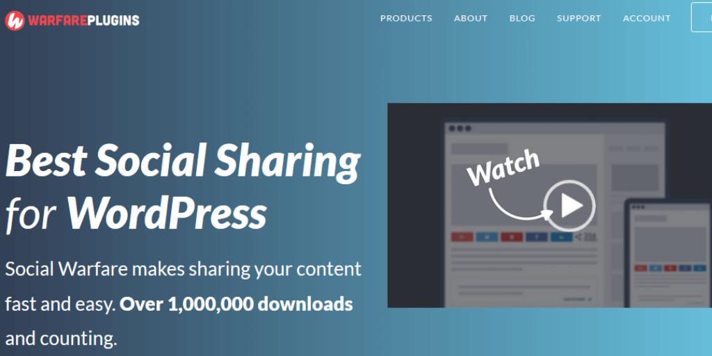 Social Warfare WordPress Social Sharing Plugin