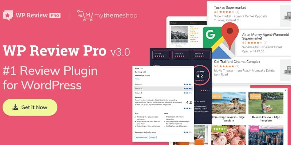 WP Review WordPress Review Plugin