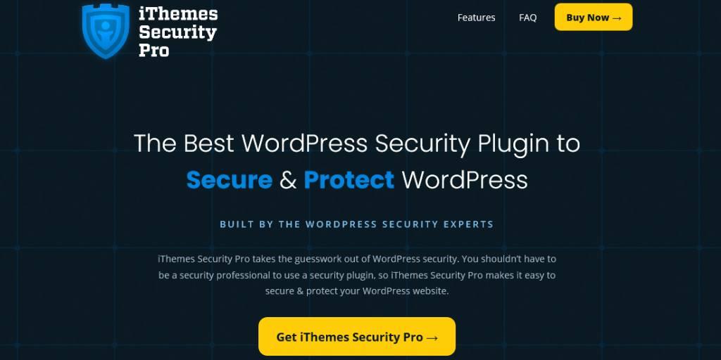iThemes Security WordPress Security Plugin