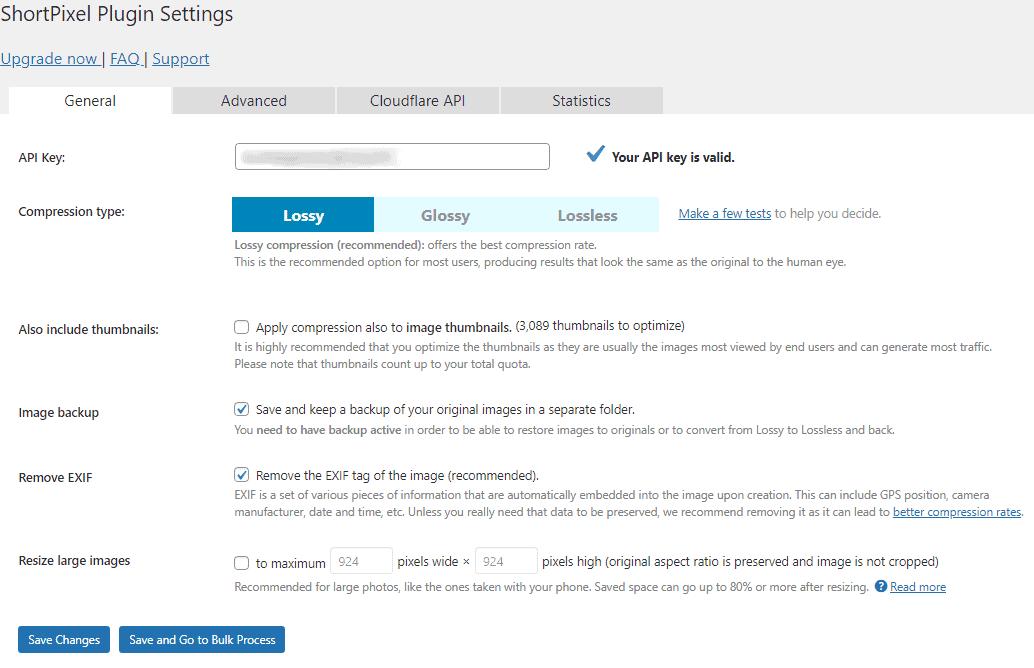 ShortPixel Plugin Settings