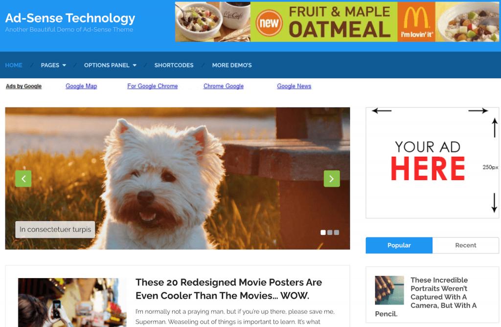 MyThemeShop Ad-Sense Theme